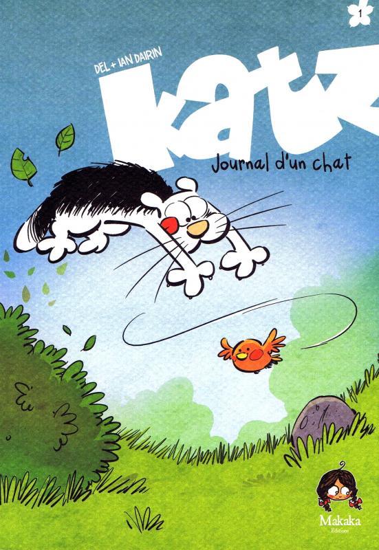 Katz : Journal d'un chat (0), bd chez Makaka éditions de Del, Dairin