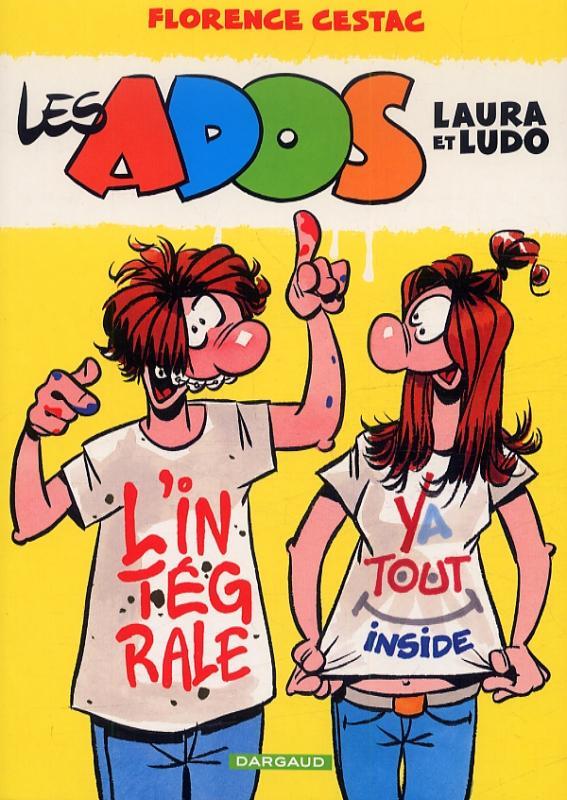 Les ados : Laura et Ludo (0), bd chez Dargaud de Cestac