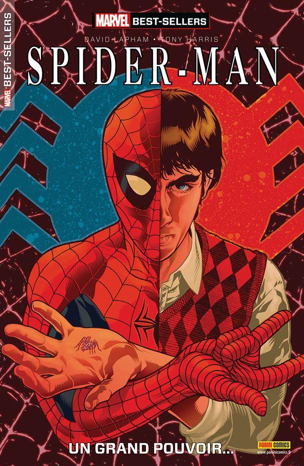 Marvel Best-Sellers T3 : Spipder-Man - Un grand pouvoir (0), comics chez Panini Comics de Lapham, Harris, Mettler
