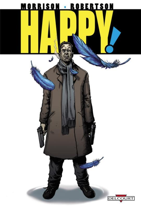 Happy !, comics chez Delcourt de Morrison, Robertson, Aviña, Clark