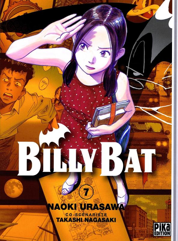 Billy Bat T7, manga chez Pika de Nagasaki, Urasawa