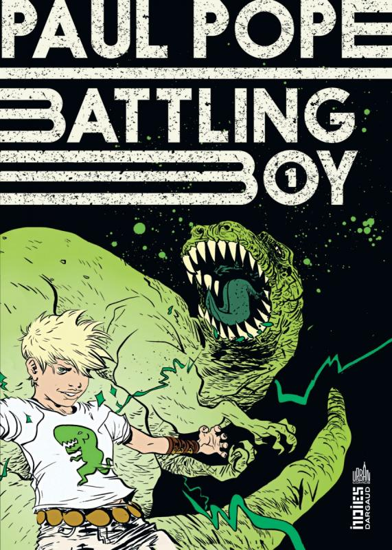 Battling boy T1 : La mort d'Haggard West (0), comics chez Urban Comics de Pope, Sycamore