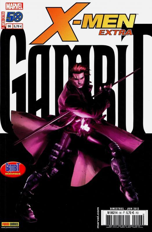 X-Men (revue) – Extra, T96 : Gambit - Voleur un jour... (0), comics chez Panini Comics de Asmus, Barrionuevo, Mann, Neves, Kirk, Rosenberg