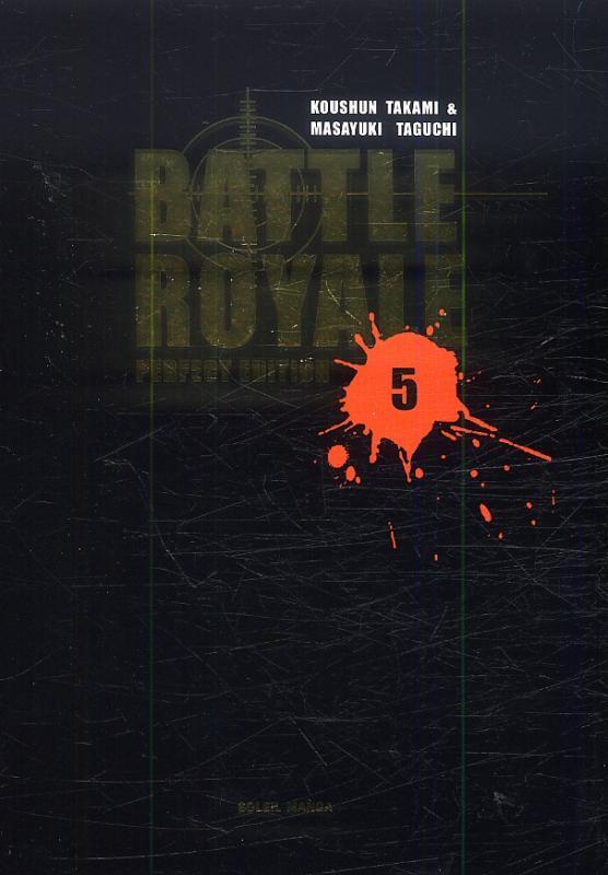 Battle royale – Perfect, T5, manga chez Soleil de Takami, Taguchi