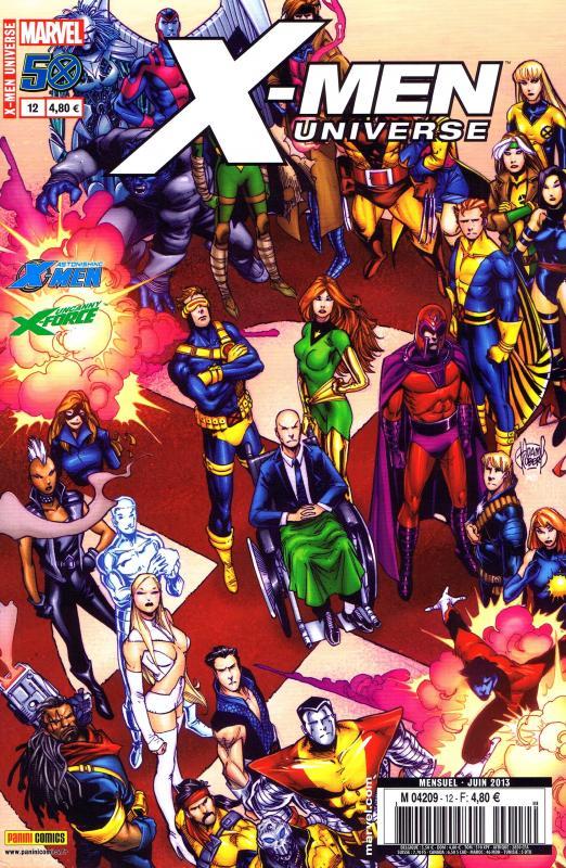 X-Men Universe – Revue V 2, T12 : L'homme de fer (0), comics chez Panini Comics de Gage, Lee, Remender, Peck, Yu, Janson, Baldeon, Frenz, Noto, Chaykin, Chen, Lim, Romita Jr, Ferry, Palo, Oliver, Mogorron, Mossa, Guru efx, Martin jr, Gandini, Kubert