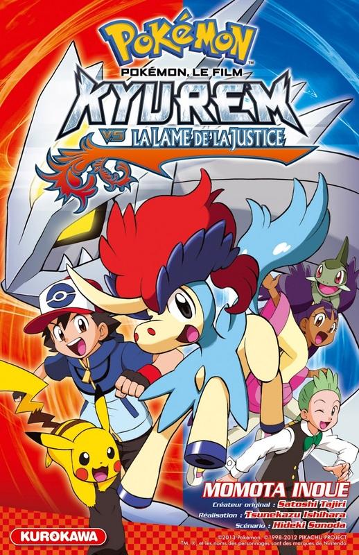 Pokémon - Kyurem vs la lame de la justice , manga chez Kurokawa de Takihara, Tajiri, Inoue , Sonoda