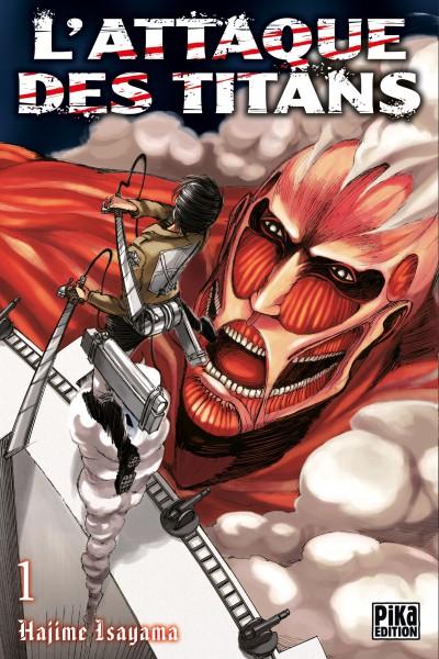 L'attaque des titans – Première édition, T1, manga chez Pika de Isayama