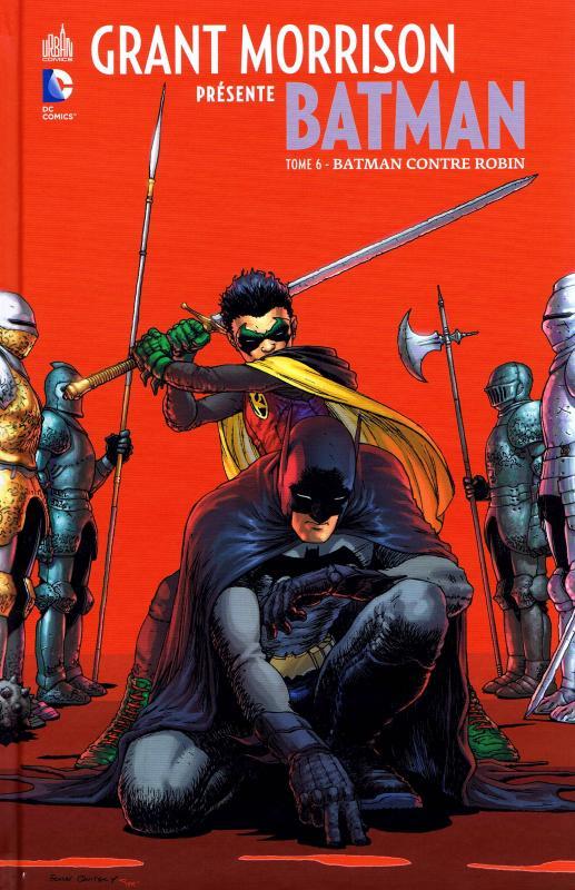 Grant Morrison présente Batman T6 : Batman contre Robin (0), comics chez Urban Comics de Morrison, Irving, Finch, Stewart, Nguyen, Burnham, Clarke, Aviña, Steigerwald, Sinclair, Quitely