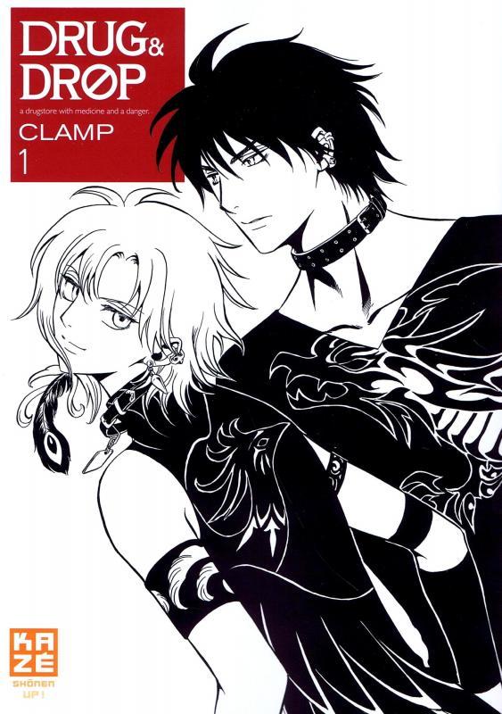 Drug and drop T1, manga chez Kazé manga de Clamp