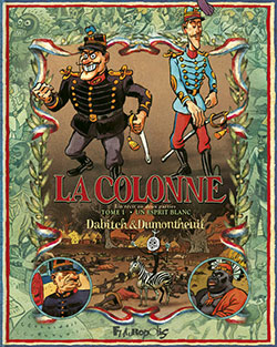 La Colonne T1, bd chez Futuropolis de Dabitch, Dumontheuil