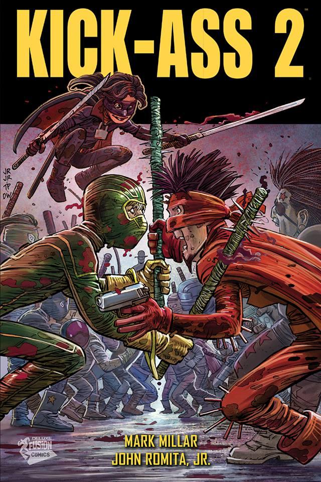Kick-Ass – Intégrale Deluxe, T2, comics chez Panini Comics de Millar, Romita Jr, White
