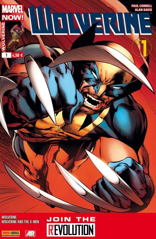 Wolverine (revue) – Revue V 4, T1 : Marvel Now ! - Un vent nouveau (0), comics chez Panini Comics de Aaron, Cornell, Bradshaw, Sanders, Davis, Martin, Hollingsworth, d' Armata, Coipel