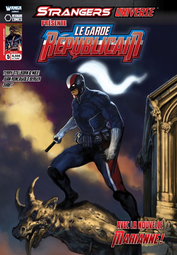 Strangers Universe T5 : Le Garde Républicain (0), comics chez Wanga Comics de Stillborn, Terry Stillborn, Roncagliolo Berger, Svart, Tuis