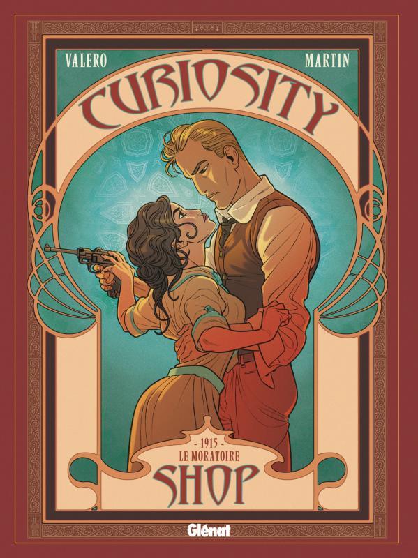 Curiosity shop T3 : 1915 - Le Moratoire (0), bd chez Glénat de Valero, Martin, Gabor