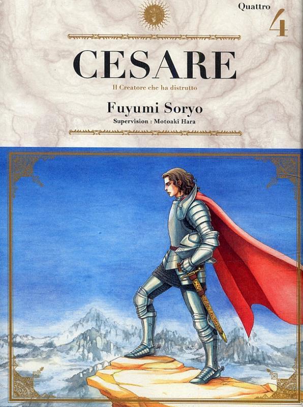 Cesare T4, manga chez Ki-oon de Hara, Soryo