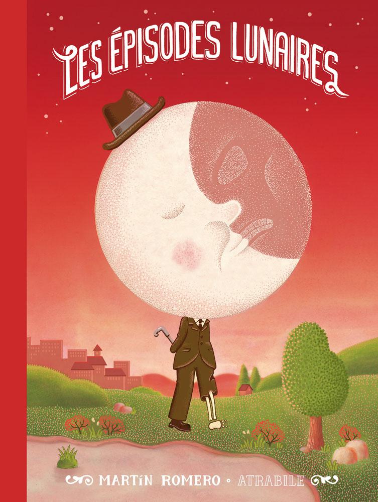 Les Épisodes lunaires, bd chez Atrabile de Romero