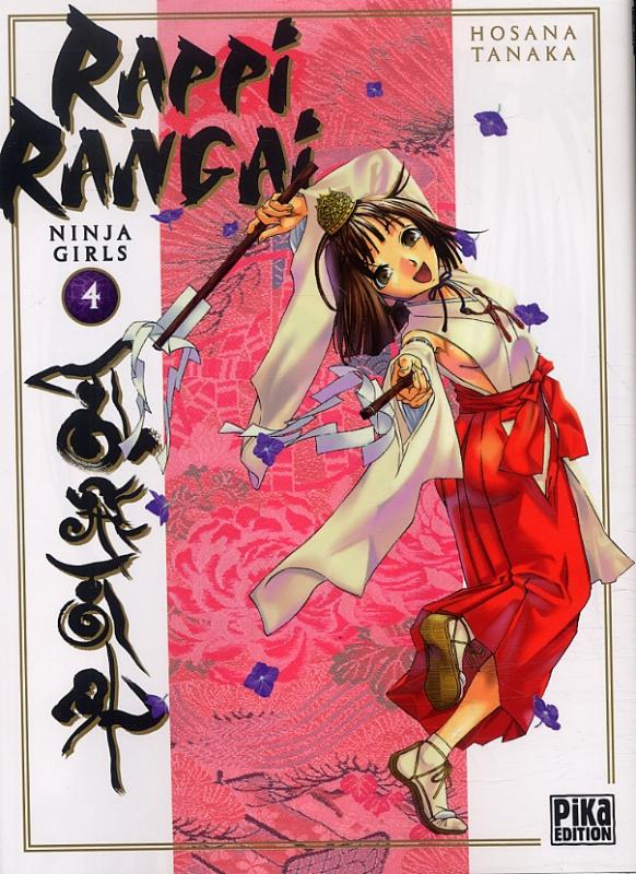 Rappi Rangai - Ninja girls T4, manga chez Pika de Tanaka