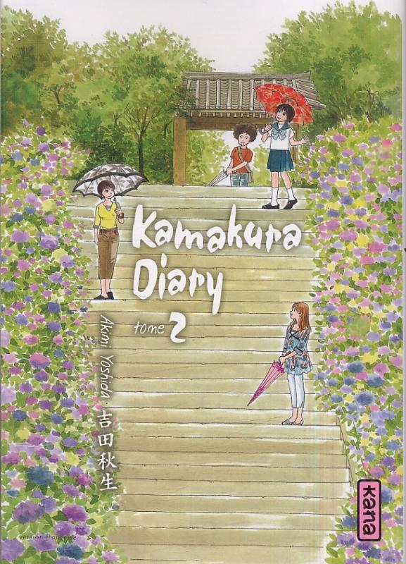 Kamakura diary T2, manga chez Kana de Yoshida