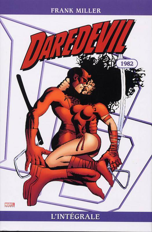 Daredevil : L'intégrale : 1982 (0), comics chez Panini Comics de Barr, Miller, McKenzie, Trimpe, Janson, Wein