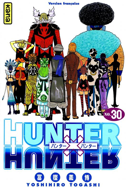 Hunter x Hunter T30, manga chez Kana de Togashi