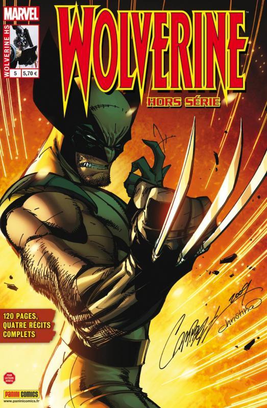 Wolverine (revue) – Hors série, T5 : Sushi (0), comics chez Panini Comics de Brandon, Moore, Dunlavey, Gischler, Das Pastoras, Elson, Latour, Coker, Albuquerque, Freedman, Rauch, Gandini, Campbell