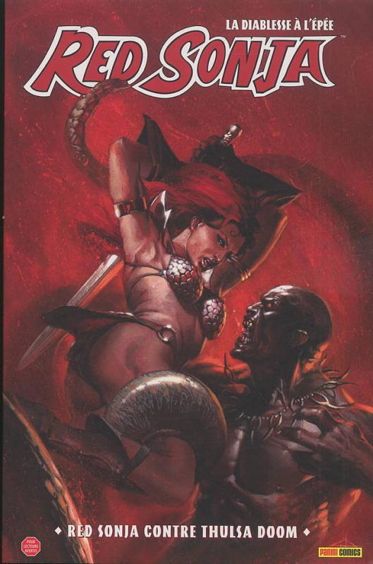 Red Sonja T2 : Red Sonja contre Thulsa Doom (0), comics chez Panini Comics de Lieberman, David, Conrad, Kester, Imaginary friends studio, Dell'otto