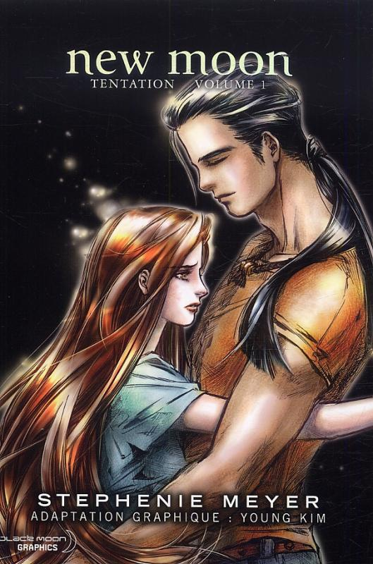 Twilight  – New moon - Tentation, T1, manga chez Pika de Meyer, Young