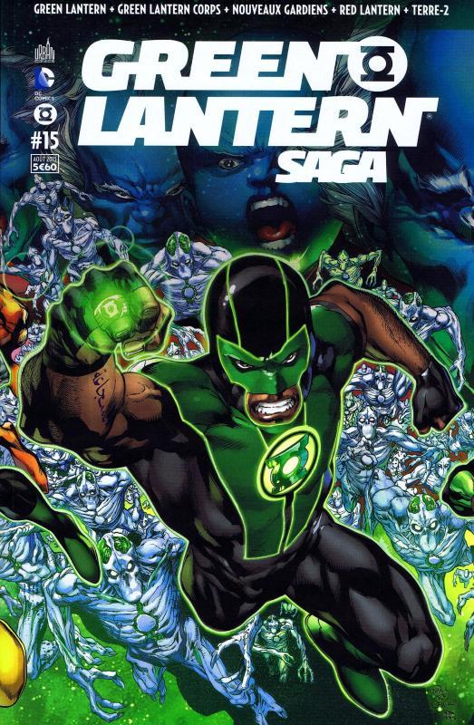 Green Lantern Saga T15, comics chez Urban Comics de Tomasi, Bedard, Robinson, Johns, Milligan, Bressan, Pasarin, Sepulveda, Pinna, Scott, Mahnke, Sinclair, Pantazis, Ruffino, Aviña, Eltaeb, Beredo, Reis