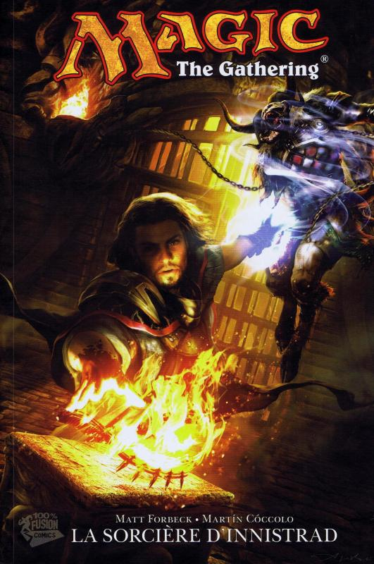 Magic : The gathering T1 : La sorcière d'Innistrad, comics chez Panini Comics de Forbeck, Coccolo, Stevens