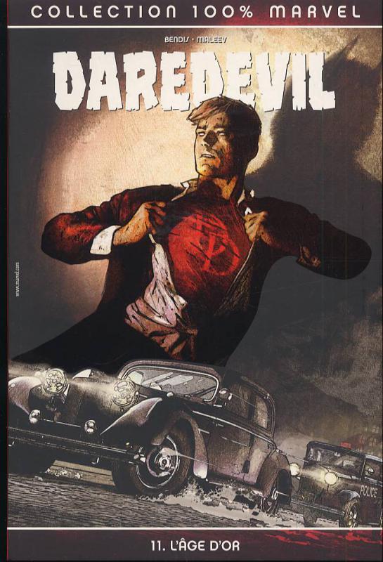 Daredevil - L'homme sans peur – 100% Marvel, T11 : L'âge d'or (0), comics chez Panini Comics de Bendis, Maleev, Stewart