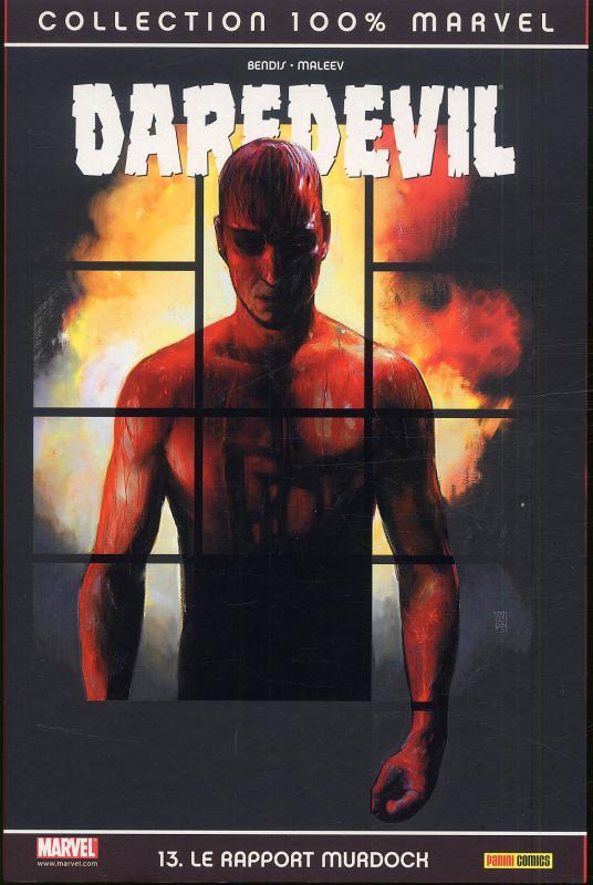 Daredevil - L'homme sans peur – 100% Marvel, T13 : Le rapport Murdock (0), comics chez Panini Comics de Bendis, Maleev, Stewart