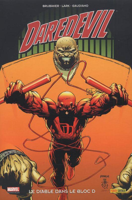 Daredevil - L'homme sans peur – 100% Marvel, T14 : Le diable dans le bloc D (0), comics chez Panini Comics de Brubaker, Gaudiano, Lark, d' Armata, Finch