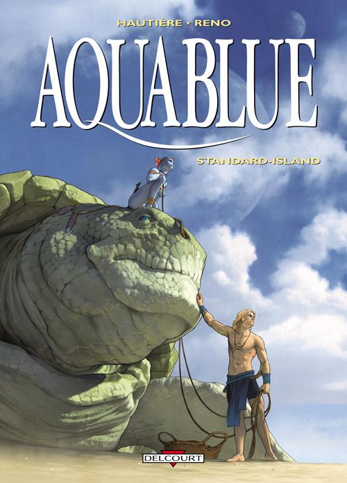 Aquablue T14 : Standard-Island (0), bd chez Delcourt de Hautière, Reno