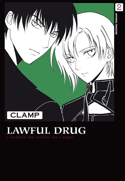 Lawful drug T2, manga chez Tonkam de Clamp