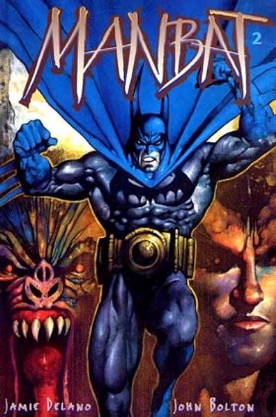Batman - Manbat T2 : Les Troglodytes (0), comics chez Editions USA de Delano, Bolton