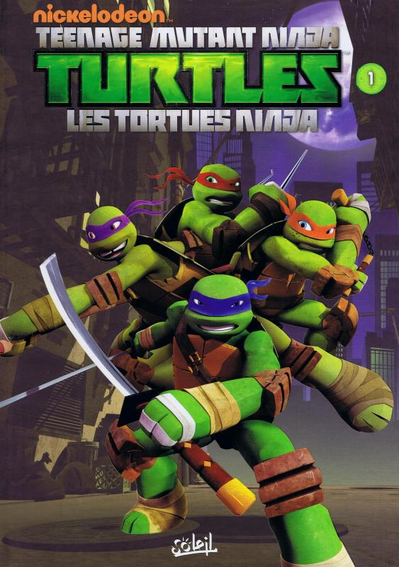 Teenage Mutant Ninja Turtles – cycle 1 : Les Tortues Ninja, T1 : Premier pas (0), comics chez Soleil de Sternin, Ventimilia, Eisinger