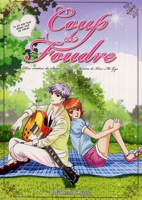 Coup de foudre, manga chez Clair de Lune de Studio Haedal, Mi-Gyo