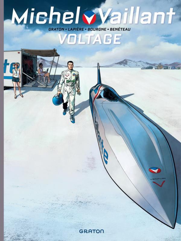 Michel Vaillant – Nouvelle saison, T2 : Voltage (0), bd chez Dupuis de Graton, Lapière, Benéteau, Bourgne, Lerolle