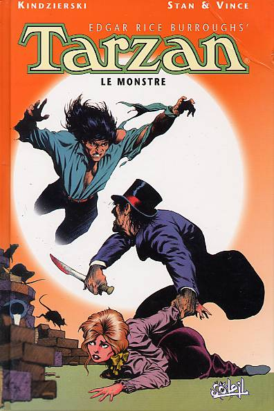 Tarzan T1, comics chez Soleil de Kindzierski, Stan, Vince, McNamee