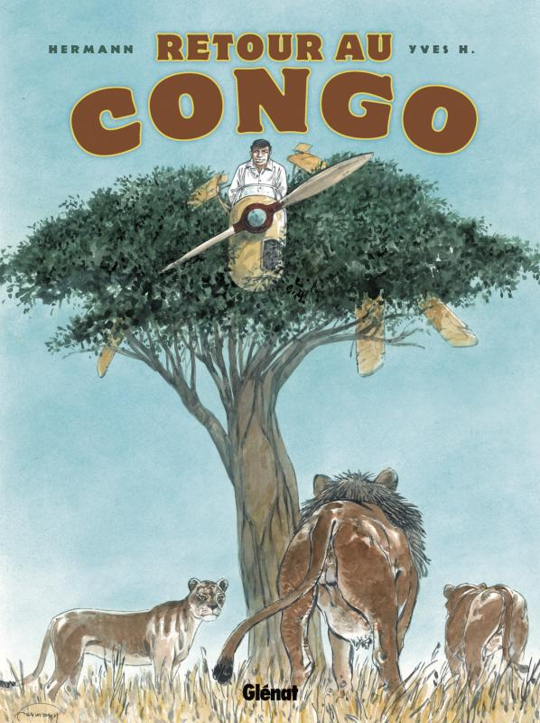 Retour au Congo, bd chez Glénat de H., Hermann