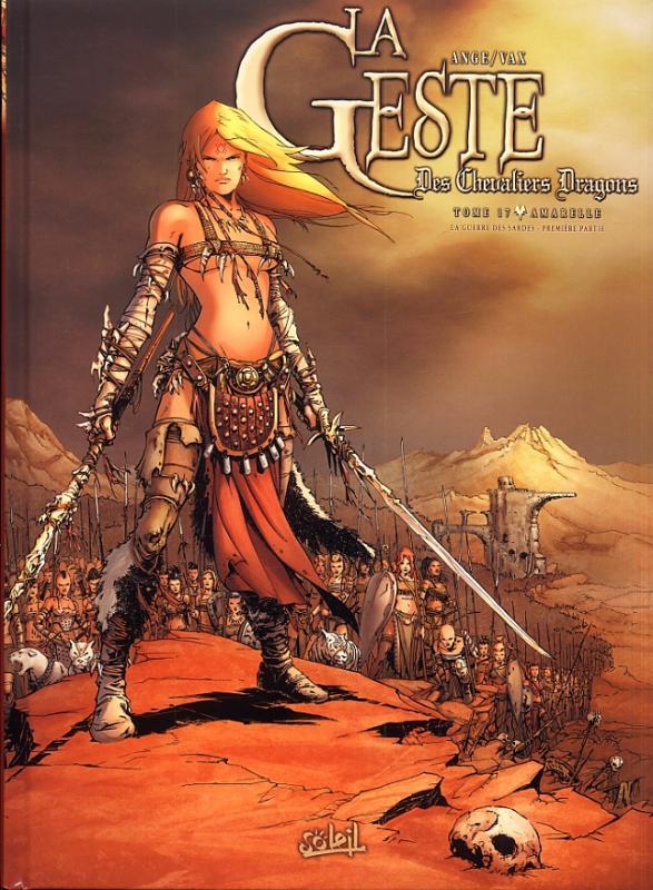 La geste des Chevaliers Dragons T17 : La guerre des sardes (1) (0), bd chez Soleil de Ange, Vax, Paitreau