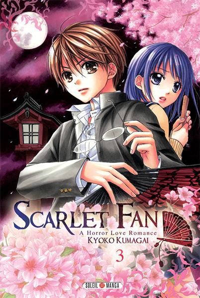 Scarlet fan - a horror love romance  T3, manga chez Soleil de Kumagai