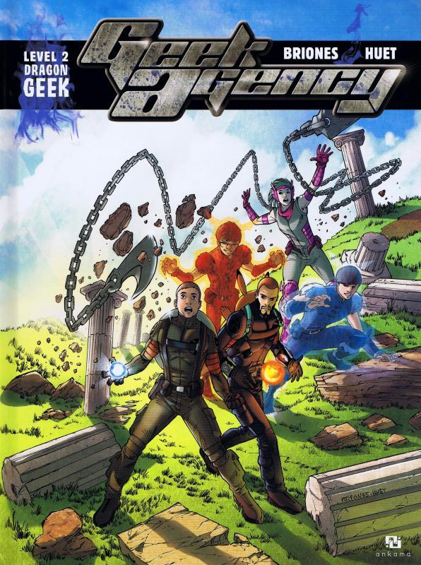 Geek Agency T2 : Dragon Geek (0), bd chez Ankama de Briones, Huet
