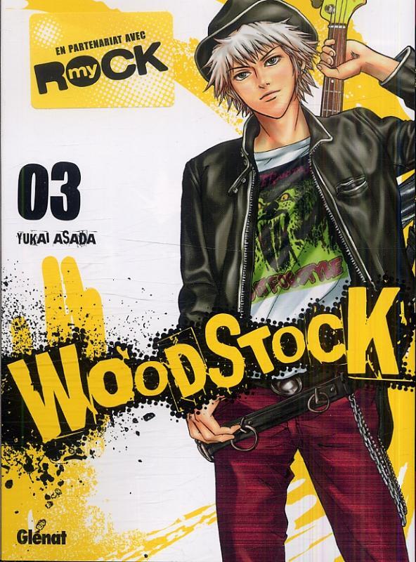 Woodstock T3, manga chez Glénat de Asada