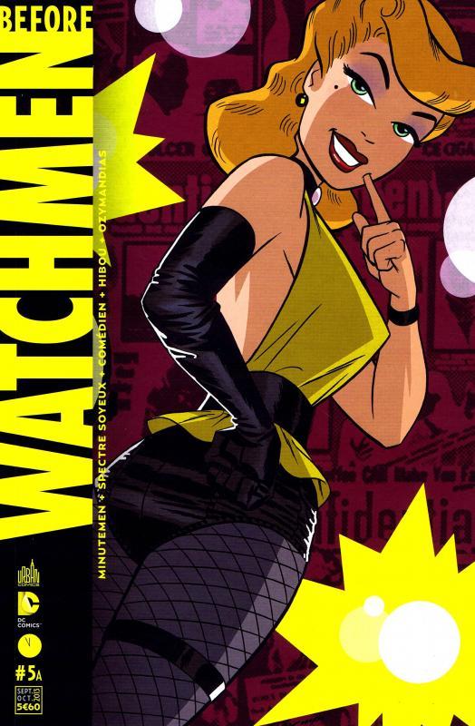 Before Watchmen T5, comics chez Urban Comics de Higgins, Straczynski, Azzarello, Wein, Cooke, Conner, Kubert, Lee, Jones, Sienkiewicz, Noto, Chung, Sinclair, Mounts, Anderson