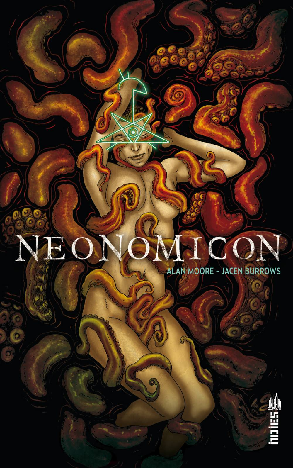 Neonomicon, comics chez Urban Comics de Johnston, Moore, Juanmar, Burrows