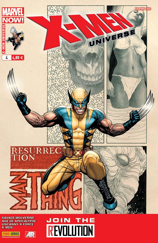 X-Men Universe – Revue V 3, T4 : Départ (0), comics chez Panini Comics de Liu, Lapham, Wood, Cho, Coipel, De La Torre, Hernandez Walta, Martin, Keith, Loughridge, Milla, Peter, Strain