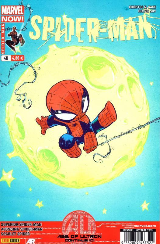 Spider-Man (revue) – V 4, T4 : Scénario catastrophe (0), comics chez Panini Comics de Yost, Slott, Gage, Checchetto, Ramos, Olazaba, Wong, Palmer, Soy, Pham, Kesel, Pallot, Delgado, Mossa, Rosenberg, d' Auria, Fabela, Young
