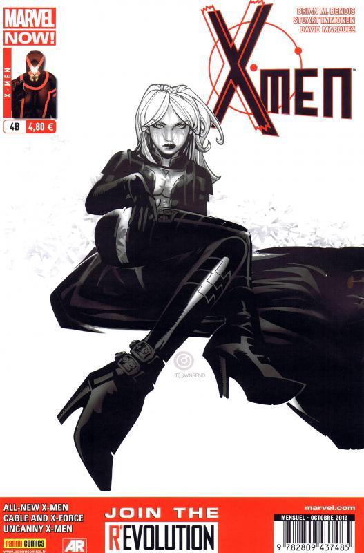 X-Men (revue) – V 4, T4 : Quand je serai grand (0), comics chez Panini Comics de Bendis, Hopeless, Bachalo, Immonen, Larroca, Marquez, Vey, Beredo, Olazaba, d' Armata, Gracia