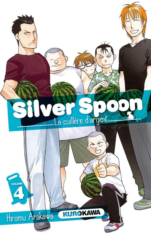 Silver spoon T4, manga chez Kurokawa de Arakawa
